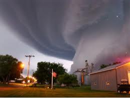 A scary tornado